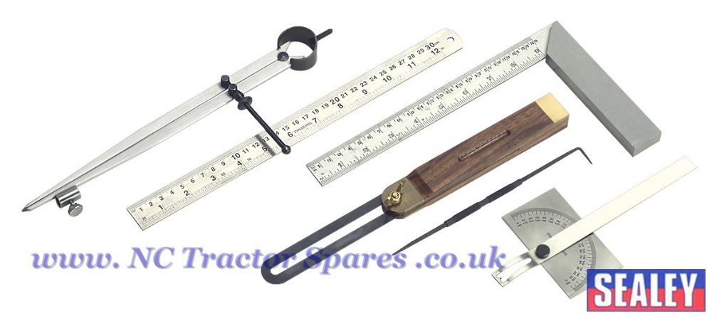 Woodworking Measuring & Marking Set 6pc